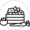 Comptoir fruits/légumes